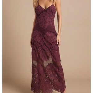 TOBI Wanderlust Lace Maxi Dress